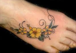 flowers tattoo foot tattoo tattoo tattoo tattoo maui tattoo