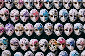 venetian carnival masks decorative miniature venetian carnival masks venice venezia
