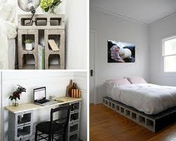 diy bedroom ideas diy bedroom ideas for diy projects concrete block furniture