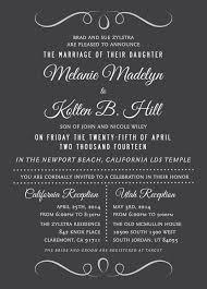 lds wedding invitations wedding invitation wording lds best of 136 best lds wedding