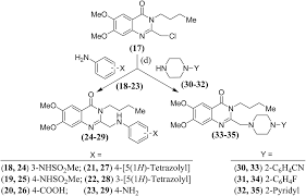 exploration of 6 7 dimethoxyquinazoline derivatives as dual acting