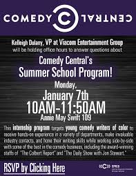 Summer Entertainment Internships - comedy central u0027s summer program epics blog