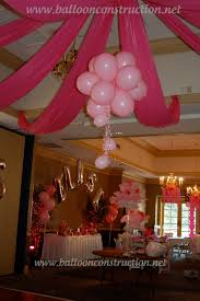 Floors Decor And More Fabric And Balloon Dance Floor Decor Balloons Fabric Sweet 16
