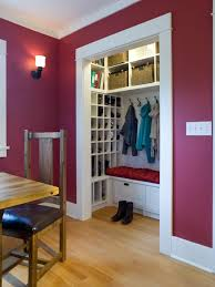 front entry closet organization ideas