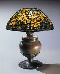 Louis Comfort Tiffany Lamp Bits And Pieces Of American Art Weathered Seashore Wallpaper Its