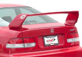 2000 honda civic spoiler 1996 2000 honda civic 2dr coupe prowing vis racing sports inc