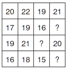maths puzzles questions with answers induction puzzles from the
