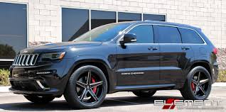 gray jeep grand cherokee with black rims 22x10 inch lexani r04 gloss black w milled accents on 2015 jeep