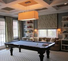 Rustic Pool Table Lights by Pool Table Room Home Theater Rustic With Pendant Light Down