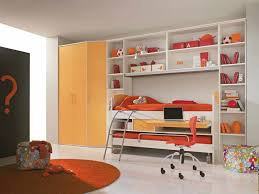 Kids Modern Desk by Bedroom Chic Painted Low Bunk Bed With Drawers For Modern Kids