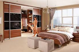Floating Table Small Master Bedroom Ideas White Wooden Floating Table Near Beds