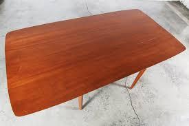 drop leaf coffee tables mid century walnut drop leaf dining table by henderdon vintage