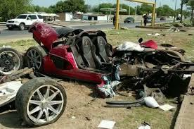 white lexus crash koenigsegg ccx totaled in high speed crash in mexico motor trend