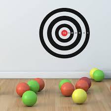 target vinyl wall stickers by oakdene designs notonthehighstreet com target vinyl wall stickers