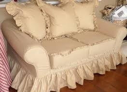 sofa shabby furniture home shabby chic sofa slipcovers white sofa slipcovers