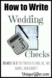 wedding gift or check wedding gift etiquette or check lading for