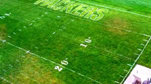 backyard football field images