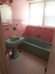 vintage pink ceramic bathroom tile thedancingparent com