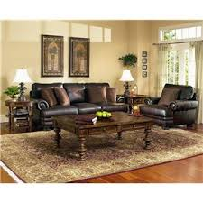 Bernhardt Sectional Sofa Bernhardt Foster Leather Sectional Sofa With Nailhead Trim Story