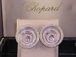 original earrings original chopard happy spirit earrings set with 1 90 ct diamonds d