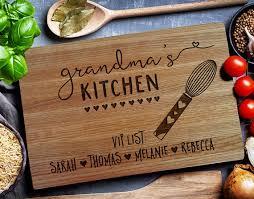 personalize cutting board kitchen custom cutting board personalized cutting