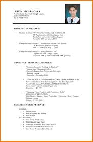 Sample Ng Resume by For A Federal Staffing Specialist Sample Resume With Degree In