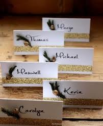how to make table seating cards rosemary seating cards this place card craft is easy to make and