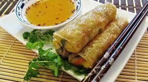 cuisine chinoise nems nems au chou et aux crevettes cuits au four recette par barbara