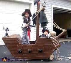 Pirates Caribbean Halloween Costume Ship Pirates Carribean Homemade Halloween Costume