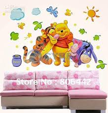 Winnie The Pooh Wall Decals For Nursery Wall Decals Nursery Winnie The Vintage Winnie The Pooh Wall Decals
