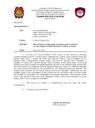 accident injury report form template spot report shooting incident doa affidavit politics