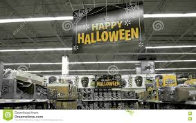 motion of happy halloween sign and on sale bargain candy inside