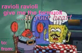 spongebob valentines day cards spongebob magic pizza napoleon nemo ash