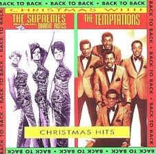 temptations christmas album christmas hits back to back by the supremes the temptations soul