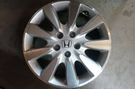 2006 honda accord 17 inch rims 2006 2007 honda accord 17 inch alloy wheel oem 17x6 5 9 spoke