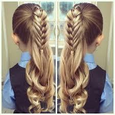 Festliche Frisuren Lange Haare Kinder by Die Besten 25 Kinderfrisuren Ideen Auf