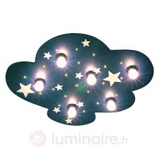 luminaire chambre d enfant plafonnier nuage fluorescent plafonnier veilleuse pour