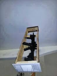 How To Build A Shooting Bench Out Of Wood Best 25 Gun Storage Ideas On Pinterest Gun Safe Diy Hidden Gun