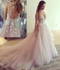 prom and wedding dresses pink prom dress 2018 prom dress with v