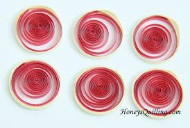 Making Of Flowers With Paper - tips on making paper quilled folded circles for malaysian flower