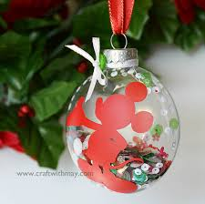 mickey mouse shaker ornament