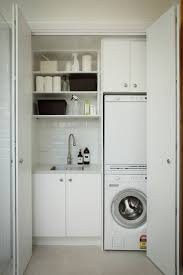 Utility Cabinet For Kitchen by Top 25 Best Small Laundry Closet Ideas On Pinterest Laundry