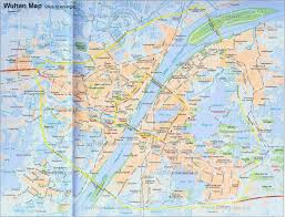 Chinese World Map by China Wuhan Map City Layout Metro Lines