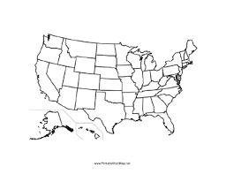 united states map outline blank geography printable united states maps printable united
