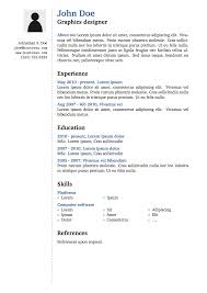 Resume Templates Latex Good Resume Format For Engineers Zone Professional Resumes