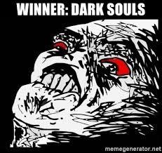 Rage Face Meme Generator - winner dark souls rage face meme generator