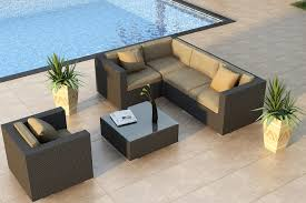 astonishing outdoor sectional sofa with resin wicker set patio couch