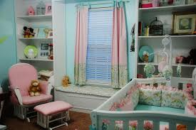 Pink Curtains For Nursery by Blackout Curtains Nursery Homesfeed