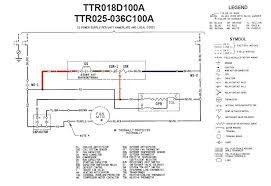 trane hvac system wiring diagram on trane images free download