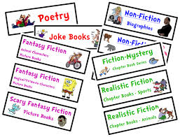 printable book labels ks2 organize your classroom library free genre bin labels